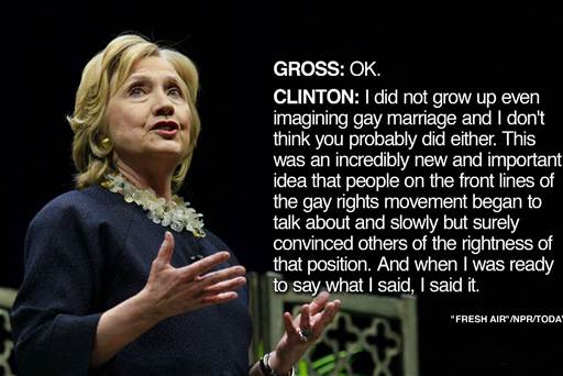 from Lyric hillary clinton gay issues